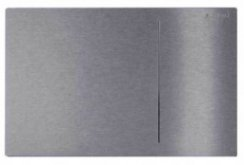 Geberit Omega 70 Brushed Stainless Steel Dual Flush Plate