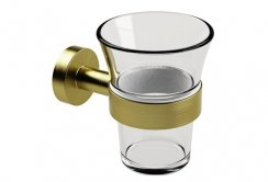 Miller Bond Brass Tumbler Holder
