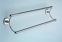 Silverdale 525mm Double Towel Rail