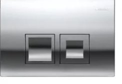 Geberit Delta 50 Gloss Chrome Flush Plate