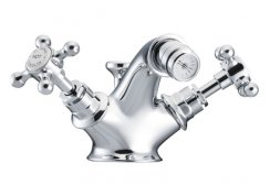 St James Mono Bidet Mixer with Pop Up Waste
