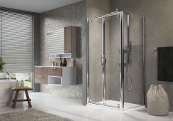 Novellini Lunes B Saloon Shower Enclosure