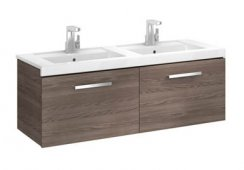 Roca Prisma 1200mm Double Basin & Unit with 2 Drawers
