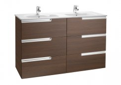 Roca Victoria-N UNIK Square Basin and Furniture 1200mm (3 Drawers)