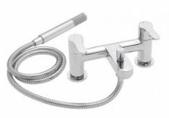 Tre Mercati Lollipop Pillar Bath Shower Mixer with Kit