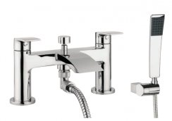 Crosswater Adora Flow Deck Mounted Bath Shower Mixer