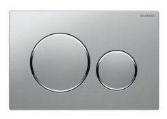 Geberit Sigma 20 Chrome Matt/Chrome Gloss/Chrome Matt Dual Flush Plate