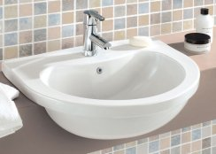 Silverdale Thames 560mm Semi Countertop Basin