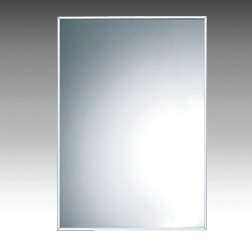 Inda Rectangular Mirror with Stainless Steel Frame