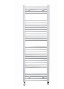 Redroom Elan Straight White 800 x 400mm Towel Radiator