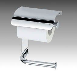 Inda Hotellerie Double Toilet Roll Holder with Cover