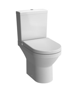 Vitra S50 Compact Close Coupled WC (Open Back)