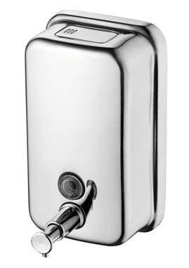 Ideal Standard IOM Stainless Steel Wall Mounted 800ml Soap Dispenser