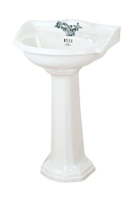 Miller 655mm Basin with Pedestal (782W-1/785W)