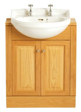 Heritage Dorchester Medium Semi Recessed Basin