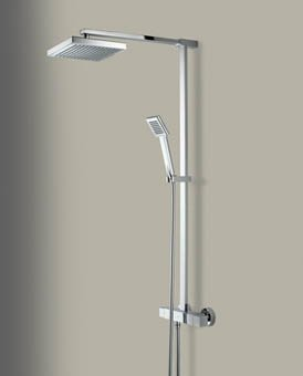 Bristan Quadrato Surface Mounted Bar Shower Valve Bathroom