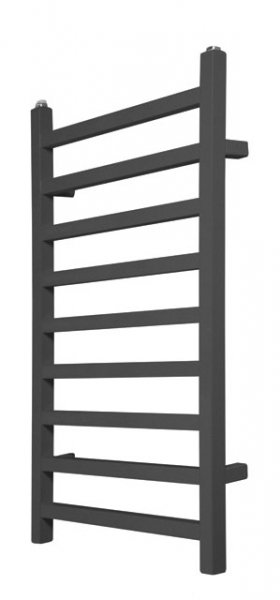 Redroom Baxx Anthracite 1400 x 500mm Designer Towel Warming Radiator