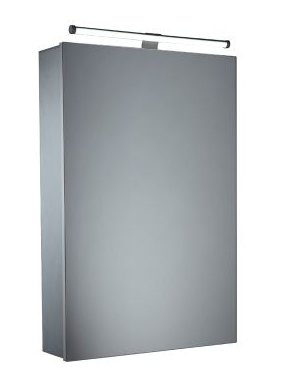 Tavistock Conduct Aluminium Single Door Illuminated Cabinet
