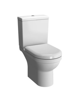 Vitra S50 Rimless Close Coupled WC (Open Back)