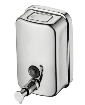 Ideal Standard IOM Stainless Steel Wall Mounted 500ml Soap Dispenser