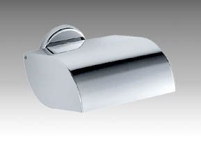 Inda Colorella Toilet Roll Holder with Cover