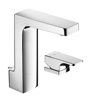 Roca L90 Basin Mixer, Deck Handle with Pop Up Waste