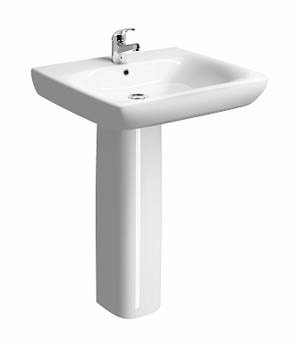 Twyford e100 Square 55cm Able Basin