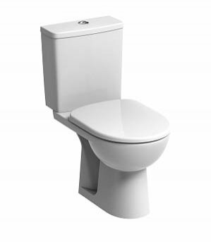 Twyford e100 Square Close-Coupled WC