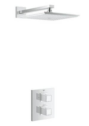 Grohe Shower Solutions Grohtherm Cube Shower Mixer (118321)