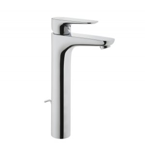 Vitra X Line Tall Basin Mixer with Pop Up Waste