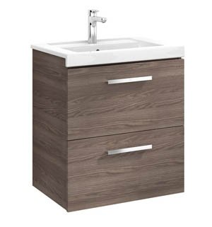 Roca Prisma 600mm Basin & Unit (2 Drawers)