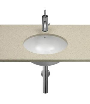 Roca Foro 410mm Under Counter top Basin