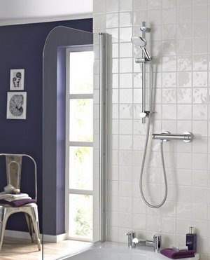Bristan Artisan Bar Shower With Single Function Handset