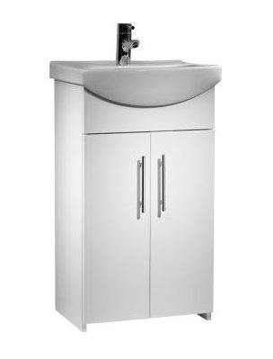 Tavistock Opal 500mm Freestanding Unit with Basin