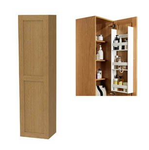 Miller London Tall Cabinet with Door Storage