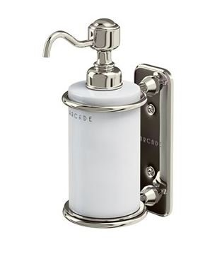 Arcade Wall Mounted Ceramic Liquid Soap Dispenser