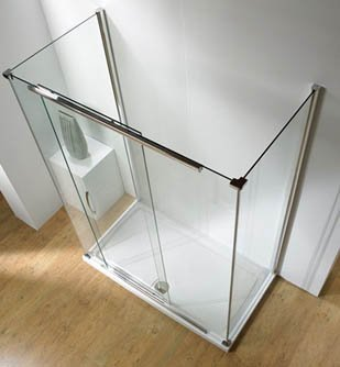Kudos Infinite Sliding Door Shower Enclosure