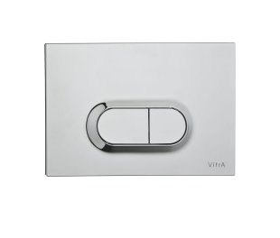 Vitra Stainless Steal Loop O Panel Flush Plate