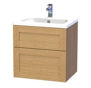 Miller London 60 Vanity unit with 2 drawers