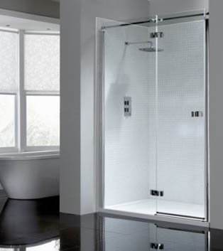 April Prestige 2 Frameless Hinge Door Shower Enclosure Bathroom Supplies Online