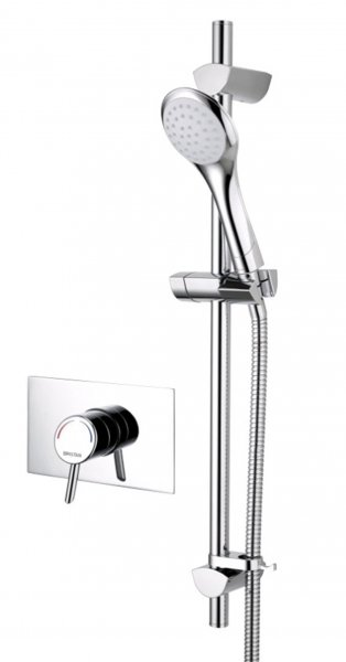 Bristan Acute Recessed Shower Valve with Adjustable Riser