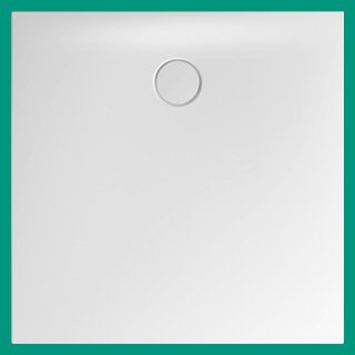 Bette Floor Side 1000 x 1000mm Square Shower Tray