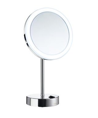 Smedbo Outline Shaving / Make-up Mirror with LED Technology and Dual Light