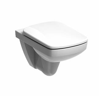 Twyford e100 Square Wall-Hung Pan