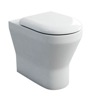 Britton Bathrooms Tall Comfort Back To Wall WC