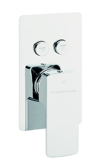 Marflow Carmani 2 Outlet Thermostatic Mixer