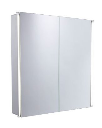 Tavistock Sleek Aluminium Double Door Cabinet