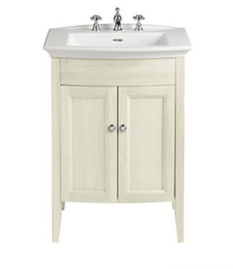 Heritage Blenheim Basin with Caversham Freestanding Vanity Unit