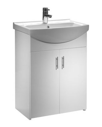 Tavistock Opal 600mm Freestanding Unit with Basin