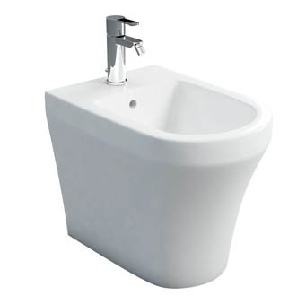 Britton Bathrooms Fine Back to Wall Bidet